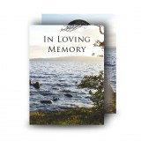 Lough Erne Shore Co Fermanagh Standard Memorial Card