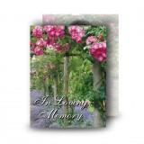A Gardeners Paradise Standard Memorial Card
