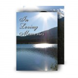 Andes Mountains South America Standard Memorial Card