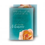 Epitaph Rose Standard Memorial Card