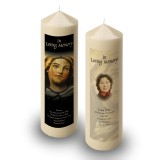 Virgin Mary Candle