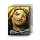 Virgin Mary Standard Memorial Card