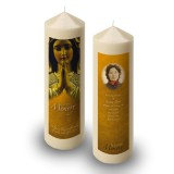 Our Lady At Prayer Candle