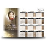 A Place of Peace Calendar Single Page