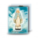 Our Lady Standard Memorial Card