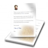 Our Father Thank You Letter