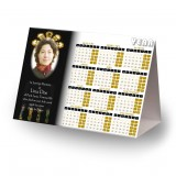 Stained Glass Church Calendar Tent