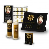 Stained Glass Church Wall Package