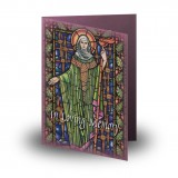 St Brigid Folded Memorial Card