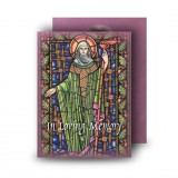 St Brigid Standard Memorial Card