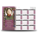 St Brigid Calendar Single Page
