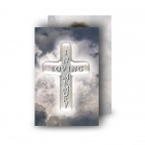 Cross Amid Clouds Wallet Card