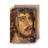Crown of Thorns Standard Memorial Card