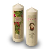 Spring Flowers Candle