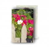 Spring Flowers Wallet Card