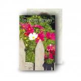 Spring Flowers Wallet Card