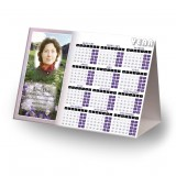 Flowers Field Mountains Calendar Tent