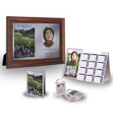 Flowers Field Mountains Table Package