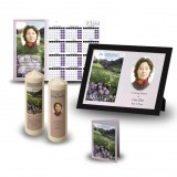 Flowers Field Mountains Wall Package