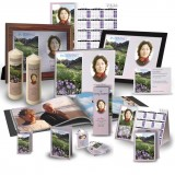 Flowers Field Mountains Custom Package