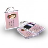 Lilac Lake Co Tyrone Keyring