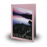 Lilac Lake Co Tyrone Folded Memorial Card