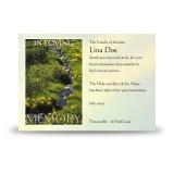 Stream Co Laois Acknowledgement Card