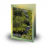 Stream Co Laois Folded Memorial Card