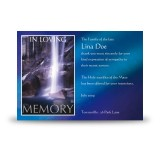 Waterfall South of Ireland Acknowledgement Card