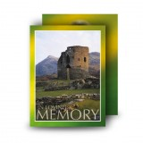 Castle West of Ireland Standard Memorial Card