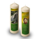 Flowing Cascade Candle