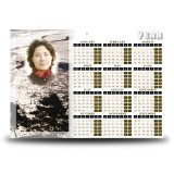 Silver Reflection Co Antrim Calendar Single Page