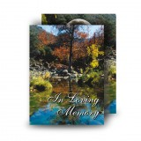 Colourful Tree Co Tyrone Standard Memorial Card