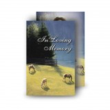 Grazing Horses Wallet Card