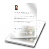 Tranquility Thank You Letter