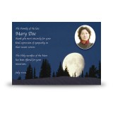 Full Moon Acknowledgement Card