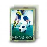 Football Standard Memorial Card
