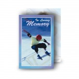 Skating Wallet Card