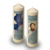 Skiing Klosters Switzerland Candle