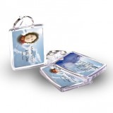 Skiing Klosters Switzerland Keyring