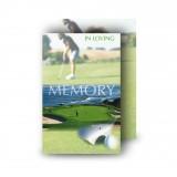 Golf Green Wallet Card