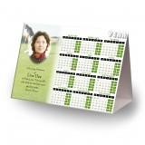 Golf Green Calendar Tent