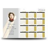 Rhythm Calendar Single Page