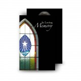Stained Glass Window Wallet Card