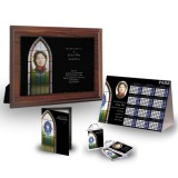 Stained Glass Window Table Package