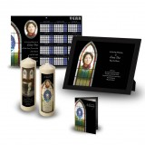Stained Glass Window Wall Package