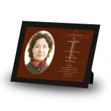 Wooden Cross Framed Memory