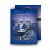 Donegal Bay Standard Memorial Card