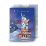Statue of Liberty Standard Memorial Card
