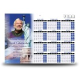 Statue of Liberty Calendar Single Page